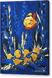 Drizzlefish Acrylic Print