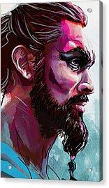 Drogo Acrylic Print by Jeremy Scott