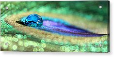 Drop Of Illusion Acrylic Print by Krissy Katsimbras