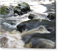 Drowning Images Acrylic Print by Richard Reeve