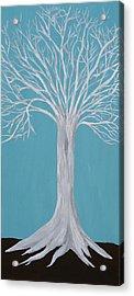 Druid Tree 2 Acrylic Print by Maura Satchell