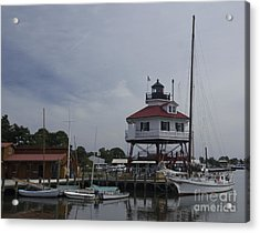 Drum Point Light Acrylic Print by ELDavis Photography