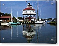 Drum Point Light House Acrylic Print