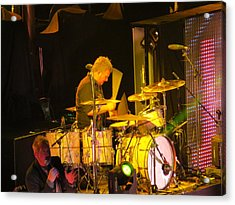 Drumer For Newsong Rocks Atlanta Acrylic Print by Aaron Martens