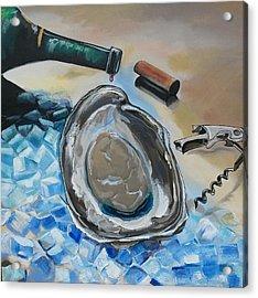 Drunken Oyster Acrylic Print by John  Duplantis