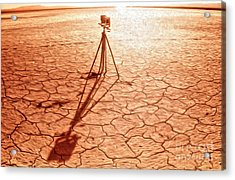 Dry Lake Photography Acrylic Print by Gregory Dyer