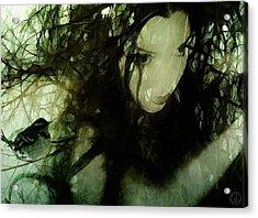 Dryad Acrylic Print by Gun Legler