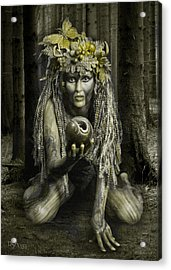 Dryad I Acrylic Print by David April