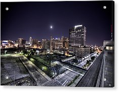 Dte In Detroit Acrylic Print