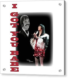 Dtk Tour I Got You Babe Acrylic Print