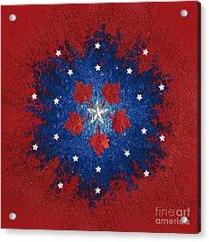 Dual Citizenship 2 Acrylic Print by First Star Art