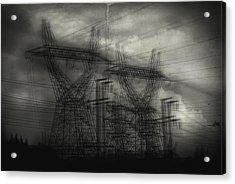 Duality Acrylic Print by Taylan Apukovska