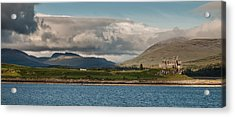 Acrylic Print featuring the photograph Duart Castle by Sergey Simanovsky