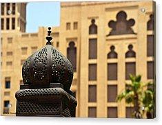 Dubai Arches Acrylic Print