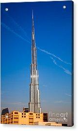 Dubai Burj Khalifa  Acrylic Print by Fototrav Print