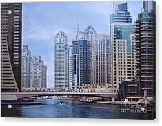 Dubai Marina Acrylic Print by Jelena Jovanovic