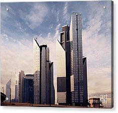 Dubai Skyline Acrylic Print by Jelena Jovanovic
