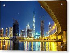 Dubai Acrylic Print by Xavierarnau