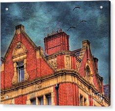 Dublin House Roof Top Acrylic Print by Juli Scalzi