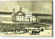 Dublin Ireland 1866 Mountjoy Prison Acrylic Print by Irish School