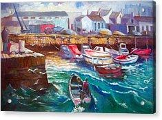 Dublin Ireland Bullock Harbour Acrylic Print