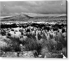 Dublin Mountains In Winter Ireland Acrylic Print by Jo Collins