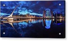 Dublin - Samuel Beckett Bridge Acrylic Print