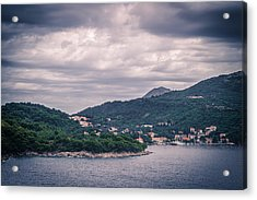 Dubrovnik Landscape Acrylic Print by Matti Ollikainen