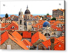 Dubrovnik Rooftops Acrylic Print