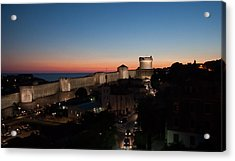 Acrylic Print featuring the photograph Dubrovnik by Silvia Bruno
