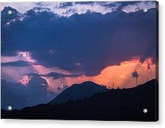 Dubrovnik Sunset Acrylic Print by Matti Ollikainen