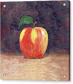 Duchess Apple Two Acrylic Print by Linda Mears