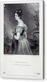 Duchess Of Bedford Acrylic Print by British Library