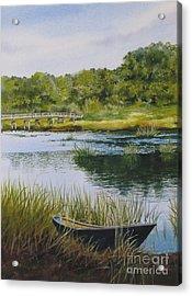 Duck Creek Acrylic Print by Karol Wyckoff