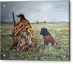 Duck Hunters Acrylic Print