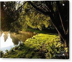 Ducks Of The Dawn Acrylic Print
