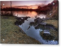 Duddingston Loch Acrylic Print