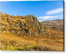 Duddon Valley Lake District Acrylic Print by Trevor Kersley