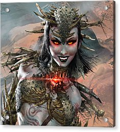 Duels Of The Planeswalkers 2014 Persona Ten Acrylic Print
