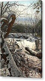 Duffins Creek 3 Acrylic Print