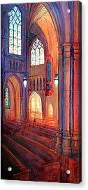 Duke Chapel Interior Acrylic Print