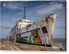 Duke Of Graffiti Acrylic Print by Adrian Evans