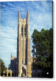 Duke University's Chapel Tower Acrylic Print