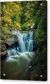 Dukes Creek Falls Acrylic Print