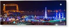 Duluth Christmas Lights Acrylic Print
