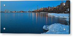 Duluth Dawn Acrylic Print by Gregory Israelson