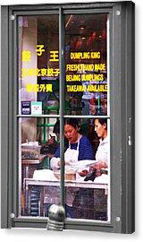 Dumplings Acrylic Print