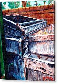 Dumpster No.8 Acrylic Print by Blake Grigorian