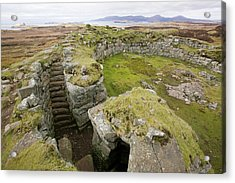 Dun Beag Broch On The Isle Of Skye Acrylic Print by Ashley Cooper