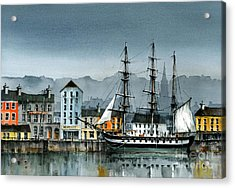 Dunbrody Famine Ship  In New Ross Acrylic Print